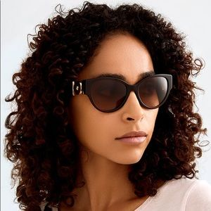 💯 NEW Versace Ve4368 5308/13 Women Sunglasses
